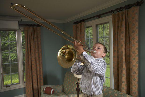 trombon ligados
